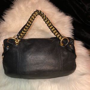 Michael Kors Black Tristan Satchel